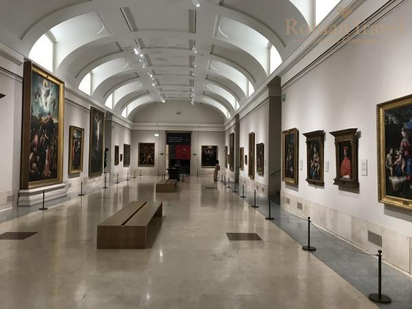 Испания. Мадрид. Музей Прадо картинная галерея