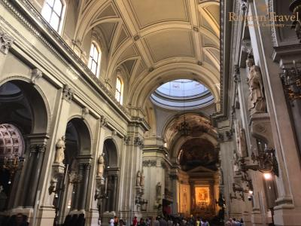 Кафедральный Собор Палермо внутри