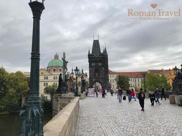 Туры в Прагу из Одессы. Карлов мост