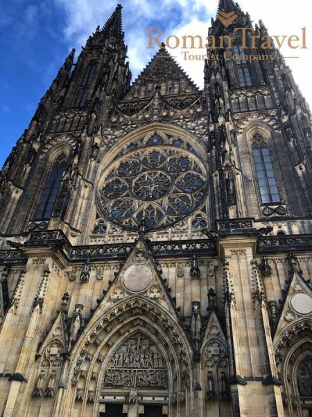 Туры в Прагу из Одессы. Кафедральный Собор Св.Вита