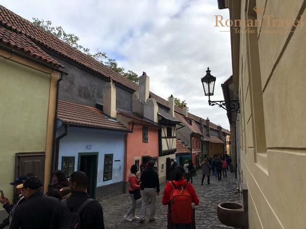 Туры в Прагу из Одессы. Золотая улица