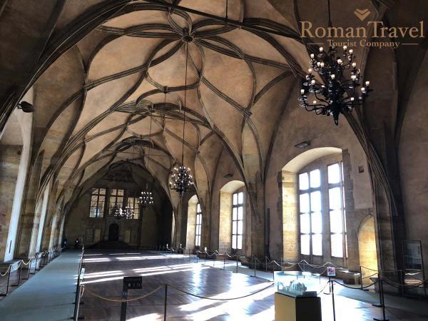 Туры в Прагу из Одессы. Старый королевский дворец