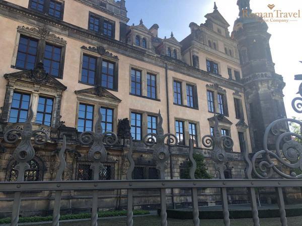 Дрезден. Германия. Королевский дворец