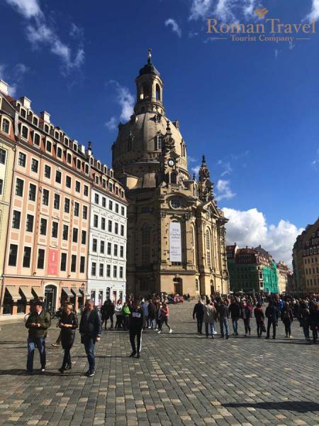 Дрезден. Германия. Собор