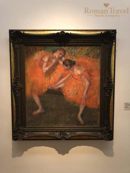 Две танцовщицы Эдгар Дега