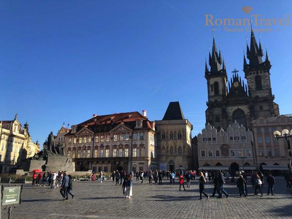 Туры в Чехию, Прагу из Одессы. Староместская площадь