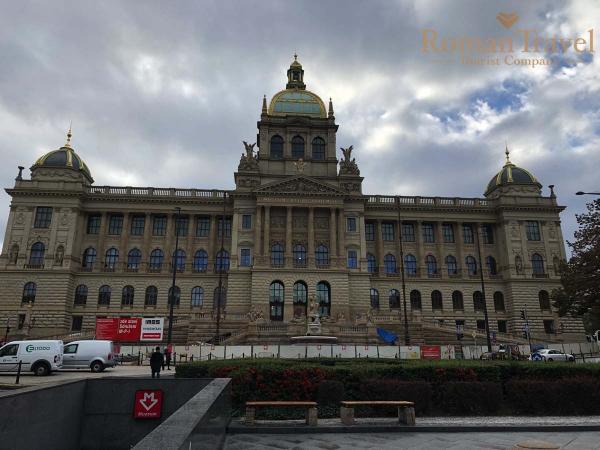 Туры в Чехию, Прагу из Одессы. Вацлавская площадь