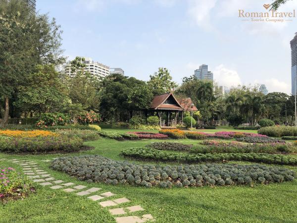 Таиланд. Бангкок. Парк