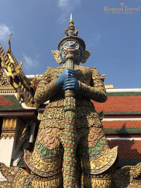 Таиланд. Бангкок. Королевский дворец
