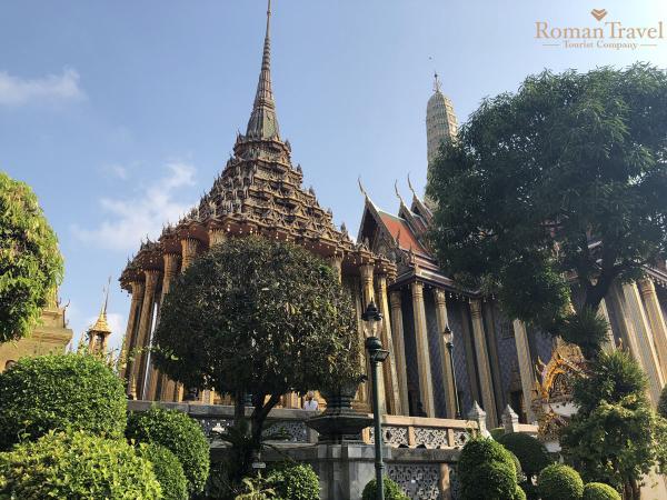 Бангкок. Храм изумрудного Будды. Королевский дворец