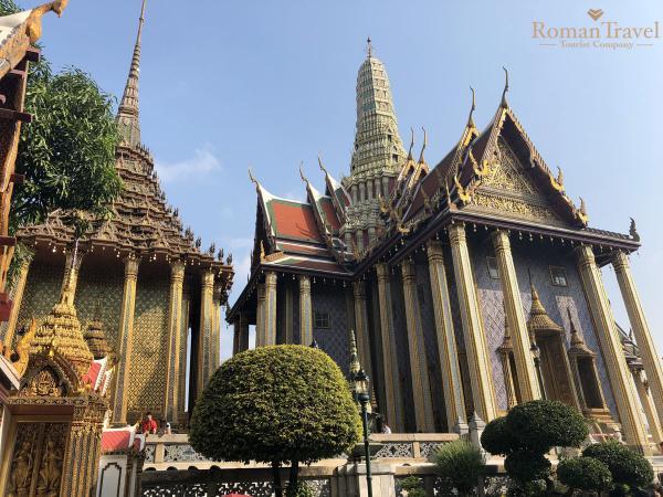 Бангкок. Храм изумрудного Будды