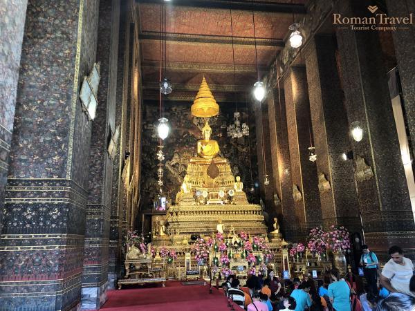 Бангкок. Храм Будды. Таиланд
