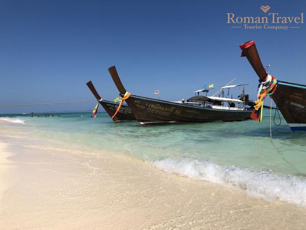 Пхукет. Остров Бамбу. Лодки