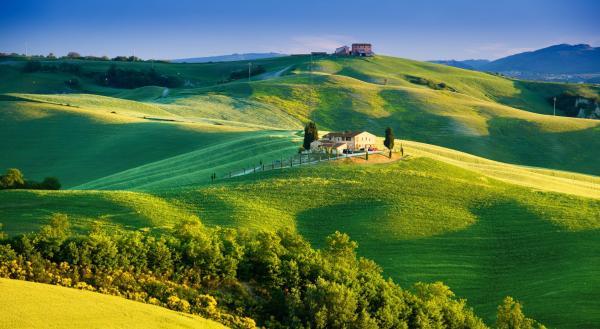 Тоскана в Италии