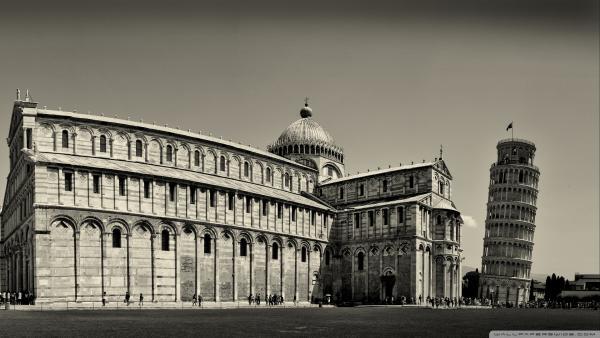 Италия. Пизанская башня