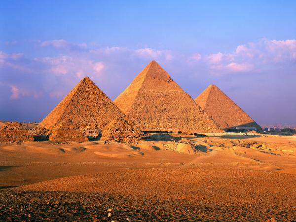Великие Пирамиды Гизы