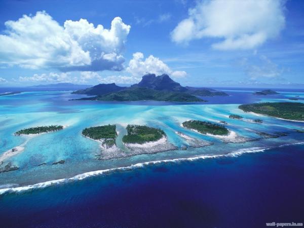 Рифы Французской Полинезии