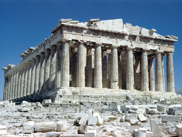 Греция. Афины. Парфенон