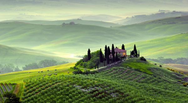 Регион Тоскана в Италии