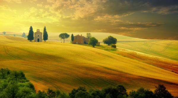 Тоскана природа