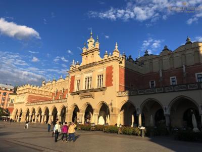 Рыночная площадь Краков. Ратуша