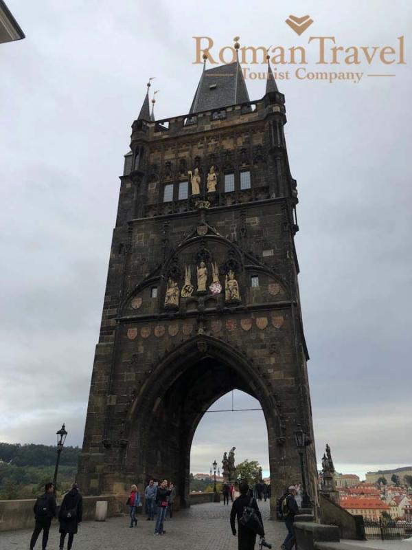 Чехия. Прага. Староместская площадь. Мост