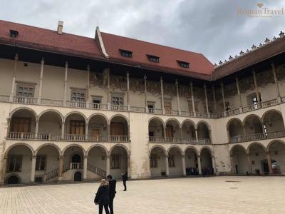 Вавельский замок. Дворец