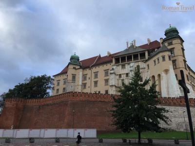 Вавельский замок. Туры в Польшу. Краков