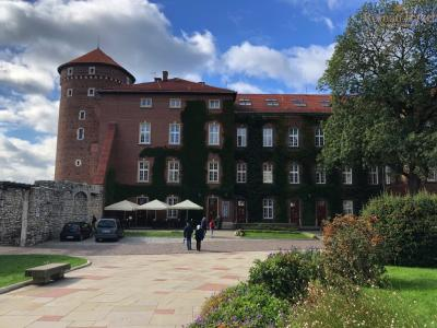 Вавельский замок. Двор