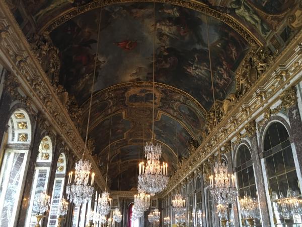 Франция. Фото Версаля. Париж