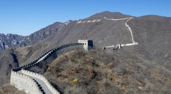 Великая китайская стена посещение