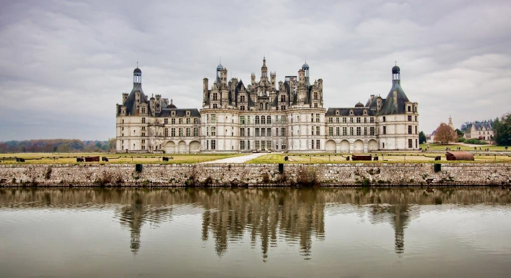Шато де Шамбор Франция Замки Луары